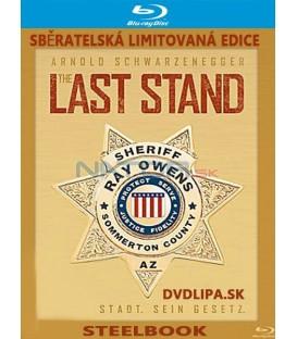 Konečná (The Last Stand) - 2013 - Arnold Schwarzenegger STEELBOOK - Blu-Ray