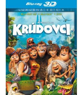 Krúdovci /  CROODSOVI / (The Croods) - Blu-ray 3D + 2D + DVD
