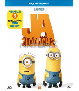 Ja, zloduch 2 / JÁ, PADOUCH 2  / (Despicable Me 2) - Blu-ray 3D + 2D