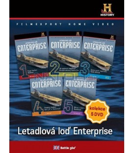 Letadlová loď Enterprise - set 5 DVD