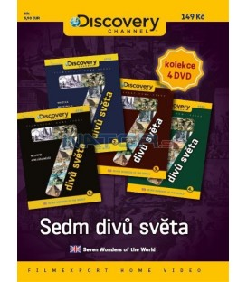 Sedm divů světa - set 4 DVD