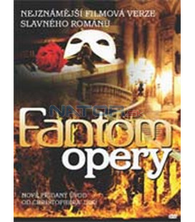 Fantom opery (němý) (Phantom of the Opera) – SLIM BOX DVD