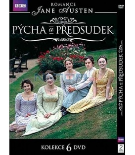 Kolekcia: Pýcha a predsudek  6 X DVD (Pride and Prejudice) 6 X DVD