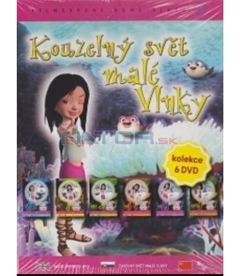 Kouzelný svět malé Vlnky - set 6 DVD