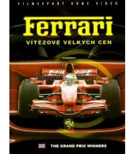 Ferrari vítězové velkých cen DVD