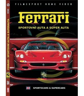 Ferrari sportovní auta a super auta DVD