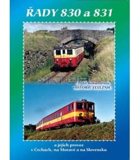 Historie železnic - LOKOMOTIVY ŘAD 830 a 831 DVD
