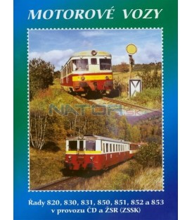 Historie železnic - MOTOROVÉ VOZY DVD