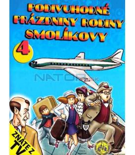Kolekcia : Miazgovci na cestách / Podivuhodné prázdniny rodiny Smolíkovy / 1 - 4 (4 x DVD)