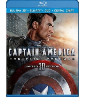 Captain America: První Avenger (2Blu-ray 3D+2D)   (Captain America: The First Avenger) Limitovaná 3D edice