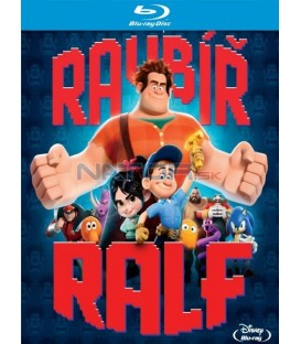Ralph Rozbi-to / RAUBÍŘ RALF (Wreck-It Ralph) - 2 X Blu-ray 2Blu-ray 3D+2D