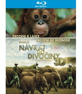 Návrat do divočiny (IMAX: Born to Be Wild) 3D - Blu-ray 3D+2D