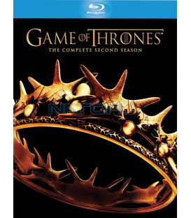 Hra o trůny - 2. SÉRIE - (Game of Thrones) Blu-ray (5 BD)