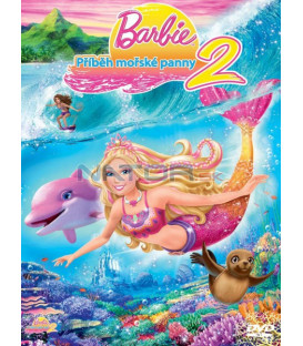 Barbie - Příběh mořské panny 2 limitovaná edice s přívěškem DVD