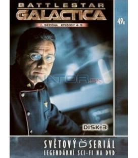 Battlestar Galactica - disk 3 - 1. sezóna, epizody 4 a 5 (Battlestar Galactica)