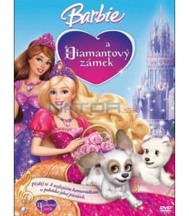 Barbie a Diamantový zámek (Barbie and the Diamond Castle) zámek limitovaná edice s přívěškem DVD