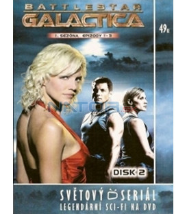 Battlestar Galactica - disk 2 - 1. sezóna, epizody 1 - 3 (Battlestar Galactica)