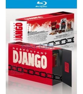 NESPOUTANÝ DJANGO (Django Unchained) - Blu-ray, Exluzivní dárkový set - unikátní komplet, unikátní balení!