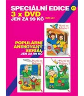 SPECIÁLNÍ EDICE 17- HURÁ ZA KÁJOU! – 1. – 3. DVD
