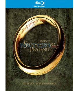 Pán prstenů: Společenstvo prstenu (Lord of the Rings: Fellowship of the Ring - rozšířená edice (2Blu-ray) - steelbook