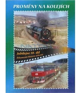 Historie železnic - PROMĚNY NA KOLEJÍCH