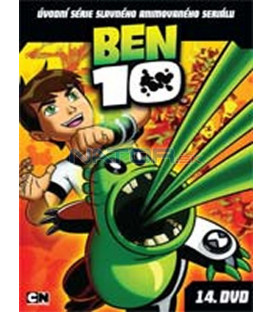 Ben 10 – 14. DVD – SLIM BOX