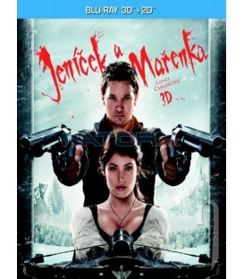JENÍČEK A MAŘENKA: LOVCI ČARODĚJNIC (Hansel and Gretel: Witch Hunters) - 2Blu-ray 3D+2D - steelbook