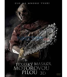 Texaský masakr motorovou pilou 3D ( Texas Chainsaw 3D ) DVD