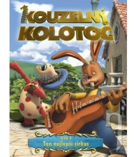 Kúzelný kolotoč DVD 3 - Ten nejlepší cirkus (The Magic Roundabout) DVD