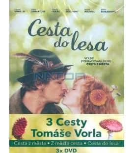 3 Cesty Tomáše Vorla  (3 DVD)