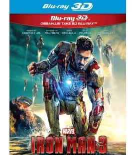 IRON MAN 3 (IRON MAN 3) - Blu-ray 3D + 2D