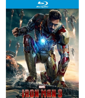 IRON MAN 3 (IRON MAN 3) - Blu-ray 3D + 2D STEELBOOK
