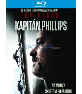 KAPITÁN PHILLIPS ( Captain Phillips) - Blu-ray
