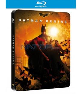 Batman začíná (Batman Begins) Blu-ray - steelbook