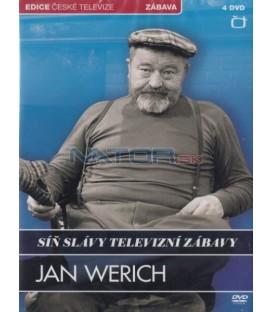 Síň slávy televizní zábavy - Jan Werich - 4xDVD