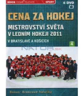 Cena za hokej - MS v ledním hokeji 2011 - 6xDVD