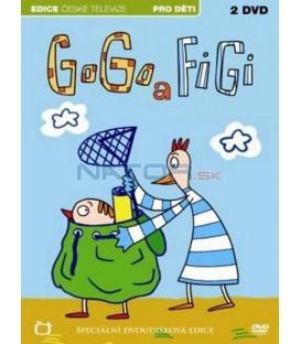 Gogo a Figi (1-13. díl) - 2xDVD