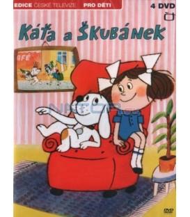 Káťa a Škubánek - 4xDVD (26 dílů)