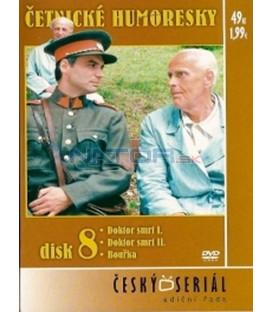 Četnické humoresky 8. DVD - díly 21 až 23