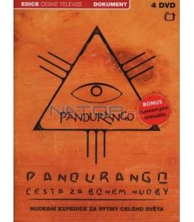 Pandurango - Cesta za bohem hudby - 4xDVD