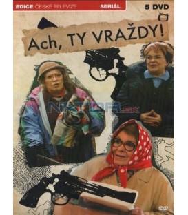 Ach, ty vraždy (Jiřina Bohdalová) - 5xDVD (5 dílů)