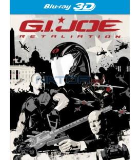 G.I. Joe 2: Odveta 3D+2D - 2 x Blu-ray (G.I. Joe: Retaliation ) - 2 x Blu-ray Steelbook