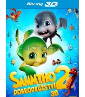 Sammyho dobrodružství 2 CZ/SK dabing (Sammys Adventures 2) - 3D/2D Blu-ray
