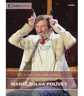 Síň slávy televizní zábavy – Manéž Bolka Polívky 8xDVD