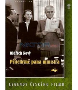 Přítelkyně pana ministra DVD