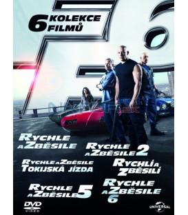 Rychle a zběsile 1-6 BOX (Fast & Furious 1-6 BOX) 2013 DVD