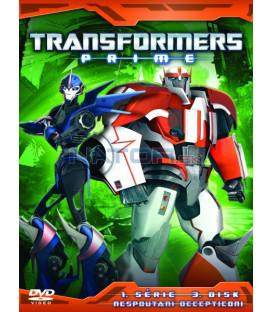 TRANSFORMERS PRIME 1. SÉRIE (Transformers Prime Season 1) Disk 3 - DVD