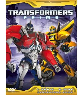 TRANSFORMERS PRIME 1. SÉRIE (Transformers Prime Season 1) Disk 2 - DVD