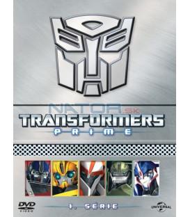 TRANSFORMERS PRIME KOLEKCE - KOMPLETNÍ 1. SÉRIE - 5 x DVD