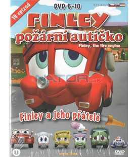 Kolekcia: Finley požární autíčko 6-10 - 5 x DVD plast box